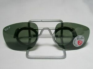 New Authentic Ray-Ban RB3560 G-15 Polarized Glass Replacement Lenses 58 rb34c