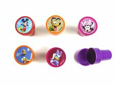 5PCS DISNEY MICKEY MOUSE SELF INK STAMPS STAMPER KIDS STATIONERY PARTY BAG #A