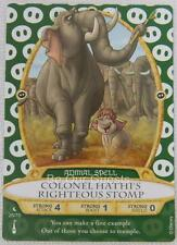 Disney Sorcerers of the Magic Kingdom Card 26 Colonel Hathi's Stomp New