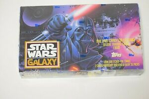 Topps 1993 Star Wars Galaxy Factory Sealed Box of 36 Packs
