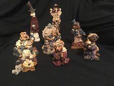 Boyds Bears Figurines Lot Of 8