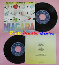 LP 45 7'' FAMILY NUMBER ONE Niagara nto my boat 1985 italy MERCURY cd mc dvd