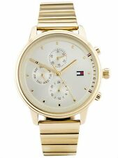 Tommy Hilfiger Blake Gold Stainless Steel Ladies Chronograph Watch TH1781905