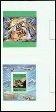 Libya 1978 Flight Boeing 727 & Icarus SSs PROOF PAIR!