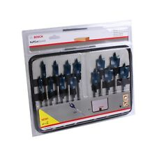 Bosch brocas fresadoras planas-set self cut Speed, 13 piezas, 10-32 mm
