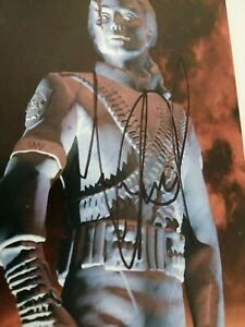 Michael Jackson signed booklet CD History no worn / owned / fedora