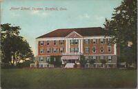 Postcard Manor School Shippan Stamford CT