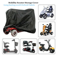 Universal Mobility Scooter Storage Cover Wheelchair Waterproof Rain Protection