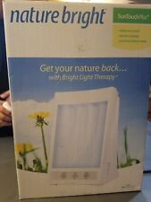 Nature Bright SunTouch Plus Light & Ion Therapy light therapy 10,000 LUX