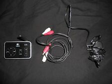 Logitech F-0414AR Music Anywhere transmitter with power supply and RCA cable
