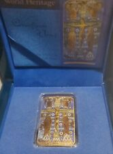 Niue 2014 $2 World Heritage Crucifixion of Jesus Christ 1 Oz Gilded Silver Coin