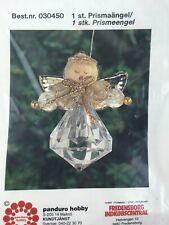 Vintage Make your own Panduro Hobby Craft Chrismas Prism Angel KIT Decoration