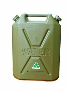 22Lt New Water Jerry Can 4wd Storage HD Plastic Boat Camping food Grade Army