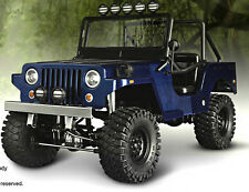 RC Truck Body Shell 1/10 SawBack SPORTS JEEP WRANGLER WILLYS MILITARY JEEP -NEW-