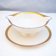 Syracuse GRACE Gravy Boat with Attached Underplate RARE