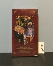 VHS SCROOGE & MARLEY (  NEW  )