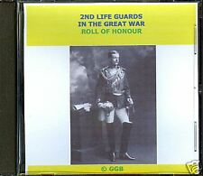 2ND LIFE GUARDS IN THE GREAT WAR ROLL OF HONOUR CD ROM