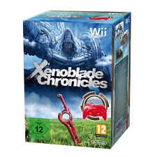 Xenoblade Chronicles With Red Controller!!! – Wii - Limited Collectors Edition!!