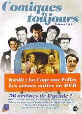 Comiques de toujours volumes 3 & 4 : 36 artistes de légende (2 DVD)