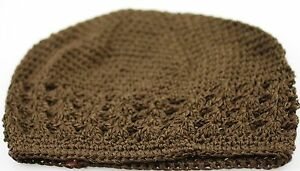 Baby/Kid KUFI CAP HANDMADE CROCHET Knit Beanie HAT Girl Boy - Choose Color Size