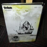 THE DREAM FACTORY - A SKI & SNOWBOARD FILM 2-DISC DVD SET, ALASKA TETON GRAVITY