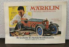Märklin Metallbaukasten - Die Geschichte des Metallbaukasten