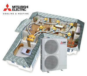Mitsubishi PEAMS140GAAVKIT Reverse Cycle Ducted System 14kW  single phase