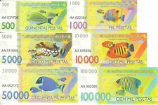 Cabo Dakhla set 6 banknotes 2015 (private issue) UNC