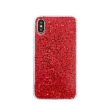 For iPhone X 8 6S 7 Plus 5S SE Silicone Bling Glitter Shockproof Slim Case Cover