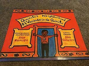 Big Book Teacher Oversize Jumbo Reading Book QUINITO'S NEIGHBORHOOD