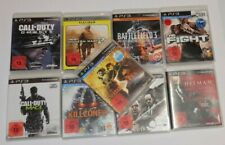 9 PS3 Spiele: Resident Evil 5,Call of Duty, Battlefield, Killzone PlayStation 3