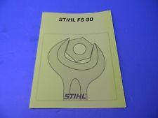 Repair Service Manual For Your Stihl Fs90Av Trimmer Brushcutter - Man58A