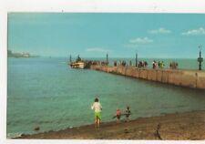 Ferry & Slipway Knott End Old Postcard 482a