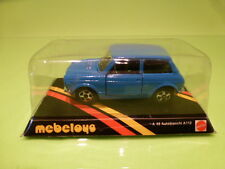 MEBETOYS A48 AUTOBIANCHI A112 - LIGHT BLUE 1:43 - NEAR MINT ON CARD BLISTER