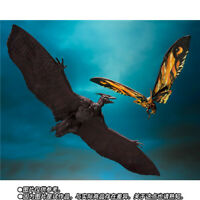 S.H.MonsterArts Mothra 2019 & Rodan 2019 Figure Godzilla King of Monster New
