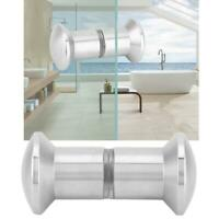 304 Stainless Steel Handle Knob For Shower Glass Door Home Bathroom M8x30mm