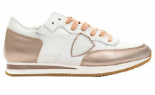 Sneakers Philippe Model TROPEZ L Dmondial scarpa Made in Italy donna rosa TRLDWM