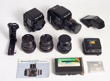 Mamiya rz67 Professional — Ensemble Complet — 2 bodies — 4 objective — 3 cassettes