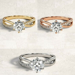 Elegant Rings for Women 925 Silver,Rose Gold,Gold jewelry Ring Size 6-10
