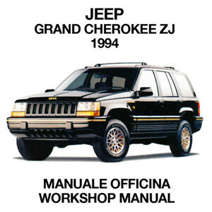 JEEP GRAND CHEROKEE ZJ 1994. Service Manuale Officina Riparazione Workshop ENG