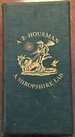 A SHROPSHIRE LAD~A.E. HOUSMAN: illus. EDWARD A. WILSON: Heritage / Nonesuch BOOK