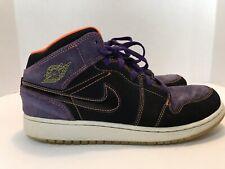 a0f806b7948fe Nike Air Jordan 1 Phat GS Black Purple Orange 7Y Shoes High Tops 364771-047