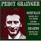 Percy Grainger: Brahms & Schumann Recital CD (1999)