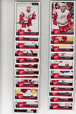 16/17 OPC Detroit Red Wings Team Set w/RCs and Inserts - Zetterberg Datsyuk +