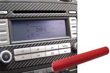 Premium Intérieur Coupez Décor Couverture Design Protection Voiture Set en Rouge