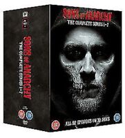 Sons Of Anarchy la Serie Completa 1 A 7 Nuovo DVD Region 2