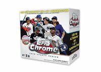 1 box  MLB 2020 TOPPS Chrome Update Baseball  Mega Box   Sealed   Free shipping