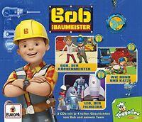 BOB DER BAUMEISTER - 01: 3ER BOX (FOLGEN 01-03)  3 CD NEU