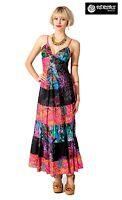 Vestito Donna Lungo Boho Chic Balze Woman Coachella Style Maxi Dress - AVRLL0245