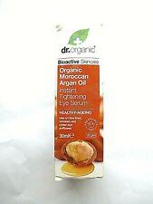 Dr. Organic Organic Moroccan Argan Oil Instant Tightening Eye Serum 30ml (4721)